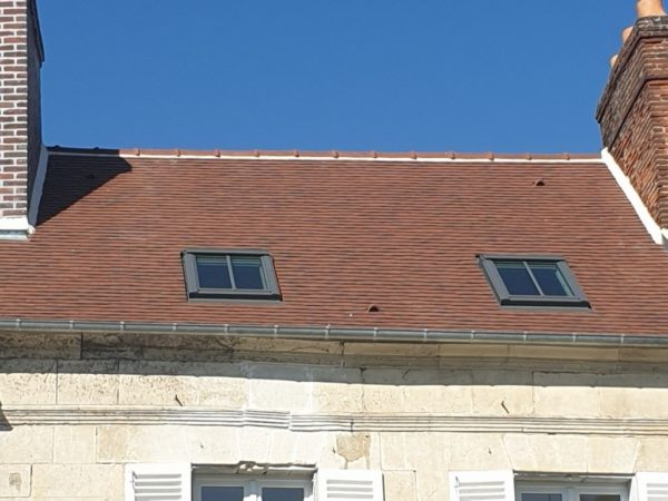 fenêtre sur toit